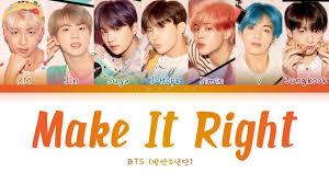 download-4 Make it right - BTS