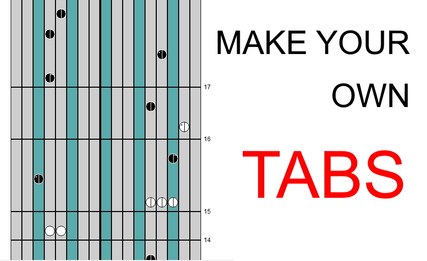 COVER How to create your own kalimba cover/tabs