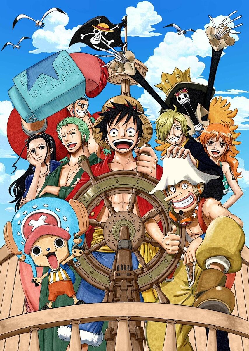 DJec_MBVAAEnr7_ One Piece OP Hope by Namie Amuro