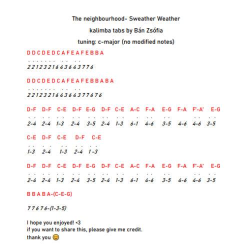 The neighbourhood- Sweater weather