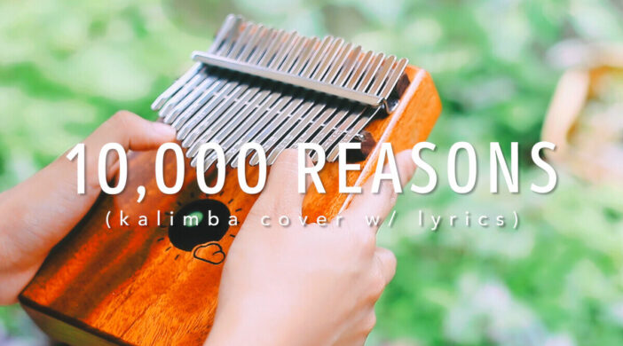 10,000 Reasons Christian Easy Kalimba Tabs Tutorial Worship Song