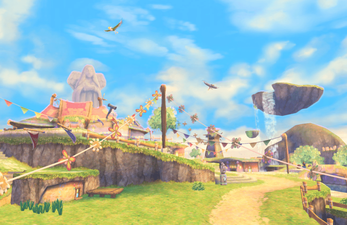 1200px-Skyloft-min Skyloft Skyward Sword - The Legend of Zelda: Skyward Sword
