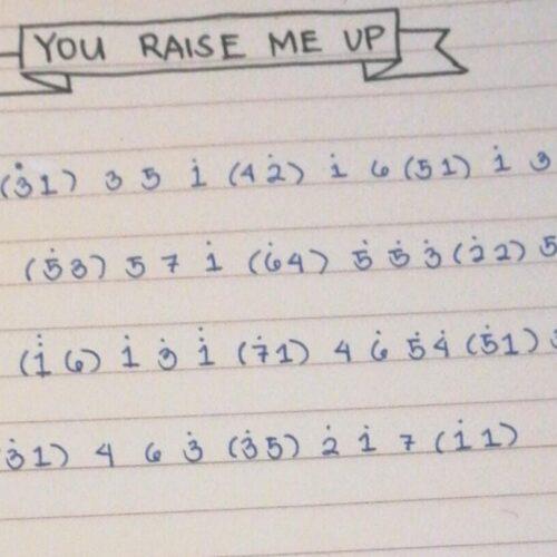 You Raise Me Up by Josh Groban Kalimba Tutorial