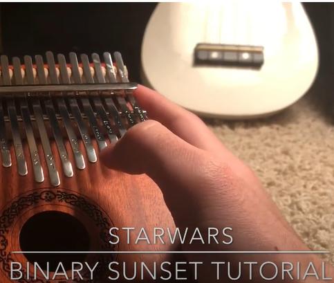 binary-sunset Star Wars Binary Sunset/The Force Theme