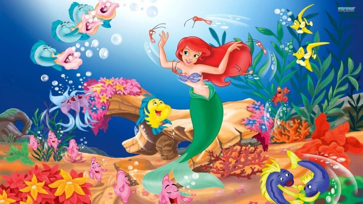 ecc0a1d53ef7d11853d391aaf3e8ac2d Under the Sea - The Little Mermaid (Easy)