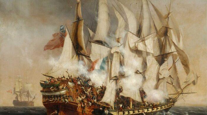Combat_naval_-_labordage_du_Kent_de_Garneray_1836_musee_de_La_Roche-sur-Yon-8ee95125-702x390 Au 31 du mois d'août