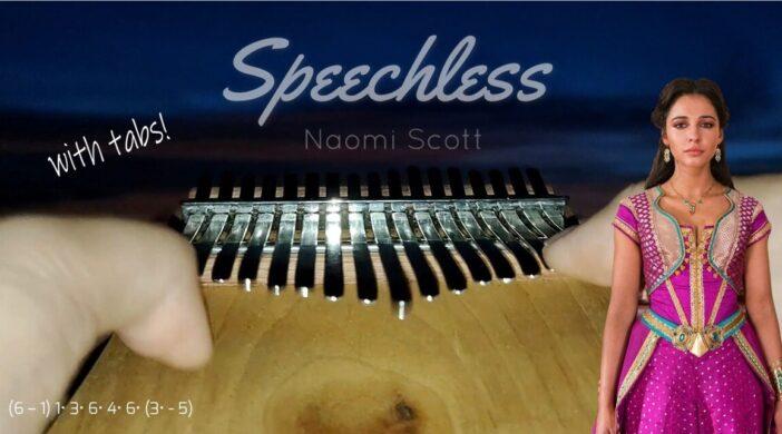 Speechless - Naomi Scott from Disney's Aladdin