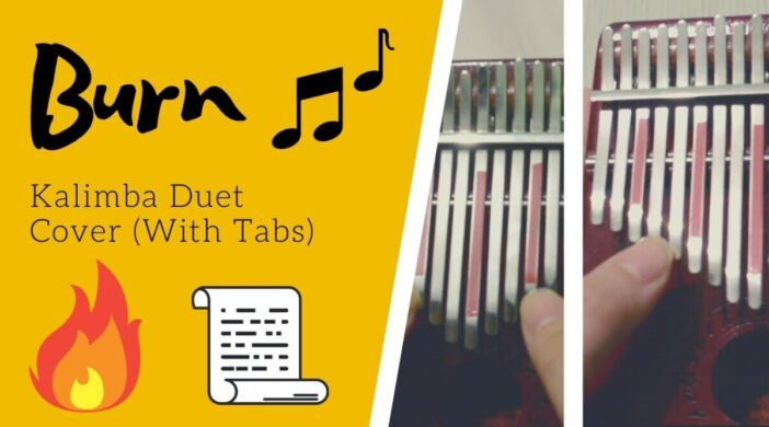Burn 🔥 Hamilton the Musical | KALIMBA DUET Cover with Tabs by xindify