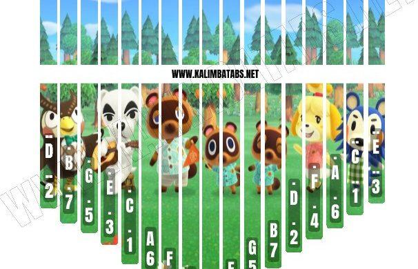 animal-crossing-2-sticker-1-606x390 Kalimba Tine Sticker: Animal Crossing #2