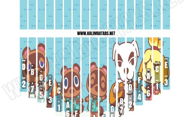 animal-crossing-sticker-616x390 Kalimba Tine Sticker: Animal Crossing #1