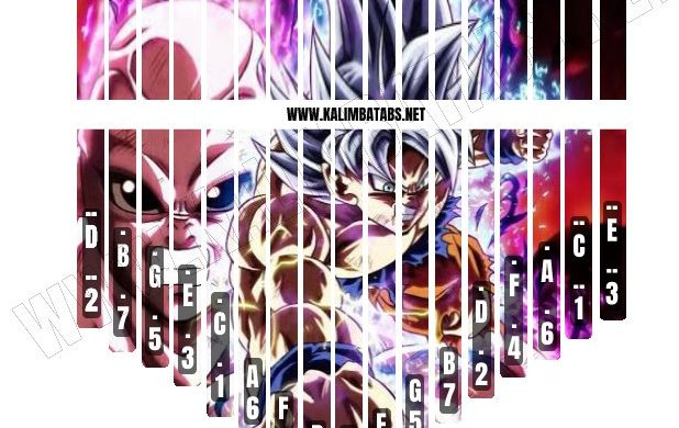goku-vs-jiren-sticker-618x390 Kalimba Tine Sticker: Dragon Ball Super Goku & Jiren