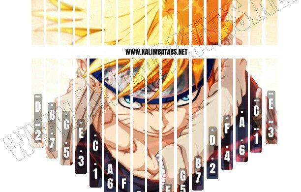 naruto-sticker-612x390 Kalimba Tine Sticker: Naruto Sticker #1