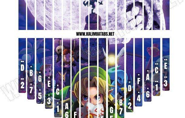 zelda-sticker-612x390 Kalimba Tine Sticker: Legend Of Zelda #1