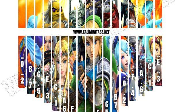 zelda-sticker2-609x390 Kalimba Tine Sticker: Legend Of Zelda #2