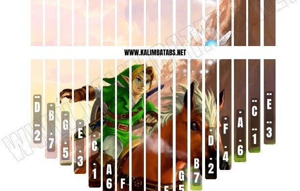 zelda-sticker3-613x390 Kalimba Tine Sticker: Legend Of Zelda #3
