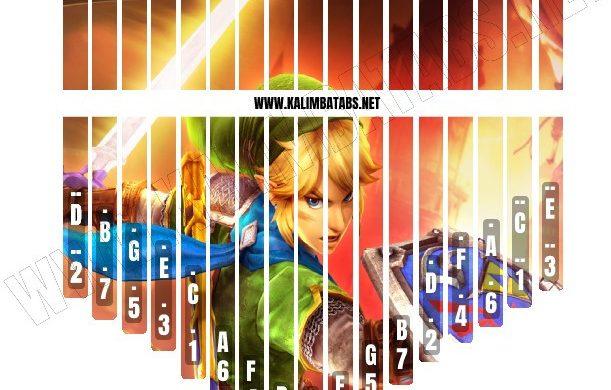 zelda-sticker4-611x390 Kalimba Tine Sticker: Legend Of Zelda #4