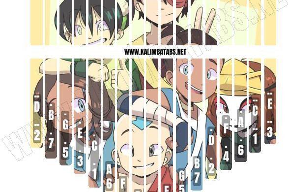 avatar-characters-sticker-586x390 Kalimba Tine Sticker: Avatar The Last Airbender Characters