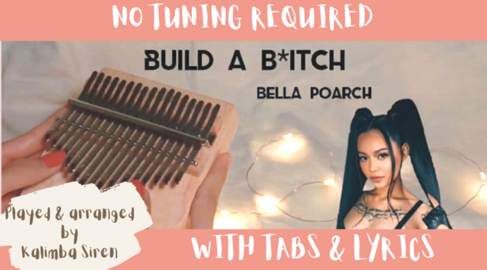 Beige-and-Brown-Tropical-Travel-Collection-YouTube-Thumbnail-0653ff48-702x390 Build A B*tch - Bella Poarch | Kalimba Full Cover With Tabs & Lyrics | No Tuning