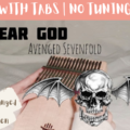 Beige-and-Brown-Tropical-Travel-Collection-YouTube-Thumbnail-16-1f8e9115-120x120 Dear God - Avenged Sevenfold   Kalimba Cover With Tabs & Lyrics   No Tuning