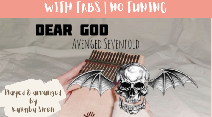 Beige-and-Brown-Tropical-Travel-Collection-YouTube-Thumbnail-16-1f8e9115-702x390 Dear God - Avenged Sevenfold   Kalimba Cover With Tabs & Lyrics   No Tuning