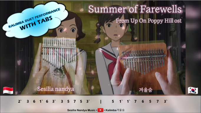 THUMB-1c41779a Summer of Goodbye (Sayonara No Natsu)   From Up On Poppy Hill OST (コクリコ坂から)   Studio Ghibli