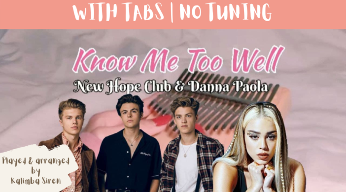 Beige-and-Brown-Tropical-Travel-Collection-YouTube-Thumbnail-18-e46bdd8c-702x390 Know Me Too Well - New Hope Club, Danna Paola | Kalimba Full Cover With Tabs & Lyrics | No Tuning