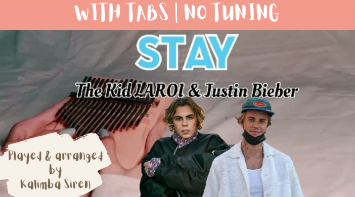 Beige-and-Brown-Tropical-Travel-Collection-YouTube-Thumbnail-19-b2999821-702x390 Stay - The Kid LAROI, Justin Bieber | Kalimba Full Cover With Tabs & Lyrics | No Tuning